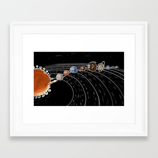 solar power II Framed Art Print