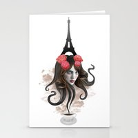 RECUERDA PARÍS Stationery Cards