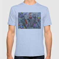 The Sacred Place Mens Fitted Tee Athletic Blue SMALL