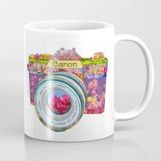 Floral Canon Mug