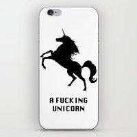 A Fucking Unicorn iPhone & iPod Skin