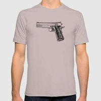 GUN Mens Fitted Tee Cinder SMALL
