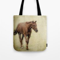 Foggy Morning Run Tote Bag