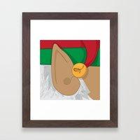 Good Elf.... Framed Art Print
