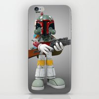 Boba Skull iPhone & iPod Skin