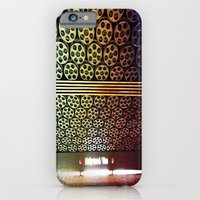 iPhone & iPod Case featuring Hollywood/Vine Metro by Kim Ramage