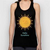 Hello Sunshine Unisex Tank Top
