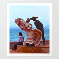 The Other Woman Art Print