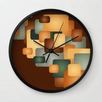 A Retro Feeling.  Wall Clock