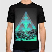 Neither Real Nor Imagina… Mens Fitted Tee Black SMALL