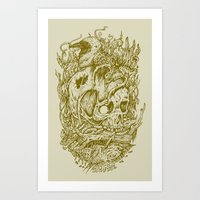 Fall Remains Art Print