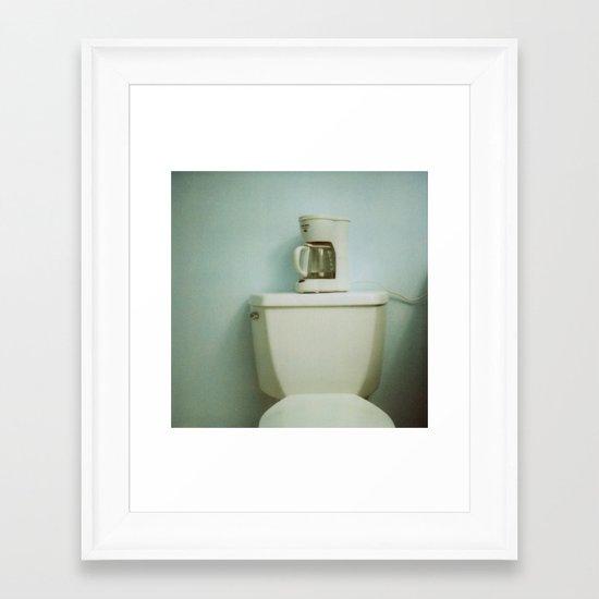 kudapola 99, crest motel (2) Framed Art Print