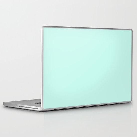 Sea Green Laptop & iPad Skin