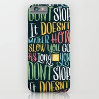 Don't Stop iPhone 6 Slim Case