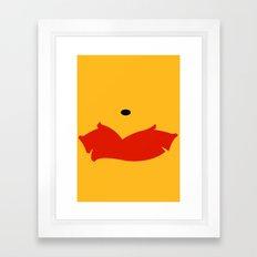 Winnie the Pooh - Winnie Framed Art Print