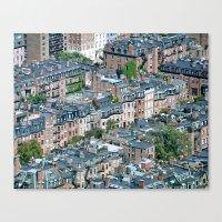 Back Bay , Boston  Canvas Print