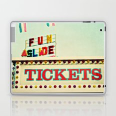 tickets to the fun slide Laptop & iPad Skin