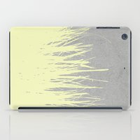 Concrete Fringe Yellow iPad Case