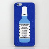Frank Sinatra & Jack Daniels iPhone & iPod Skin