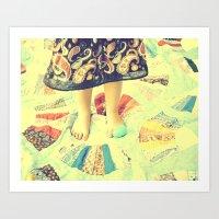A Tisket A Tasket Art Print