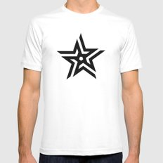 Untitled Star Mens Fitted Tee White SMALL