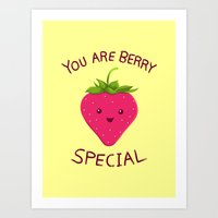 Fruity Truth Art Print