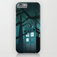 Tardis In The Forest Of … iPhone 6 Slim Case