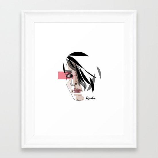 Lisbeth Salander Framed Art Print