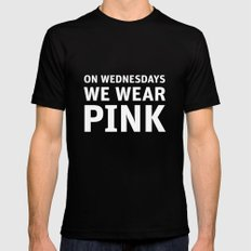 Mean Girls #11 – Pink Wednesday Mens Fitted Tee Black SMALL