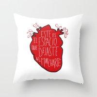 Este Es El Espacio Que D… Throw Pillow