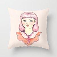 Eleonora Throw Pillow