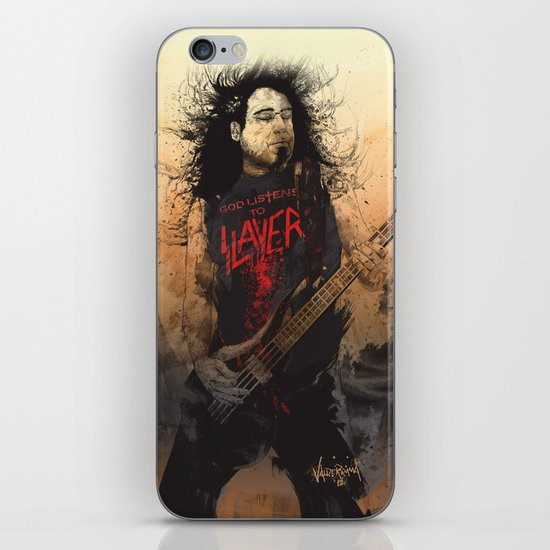 Tom Araya iPhone & iPod Skin