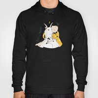 Capricia with Goats Hoody