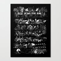 nightmare story Canvas Print
