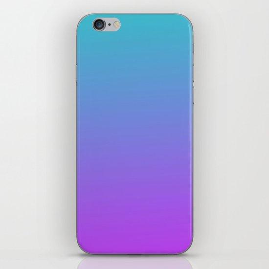 Blue-Purple iPhone & iPod Skin