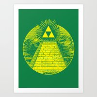 Masonic Link  Art Print