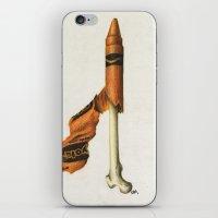 To The Core: Orange iPhone & iPod Skin