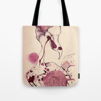 Hoploid Heron Tote Bag