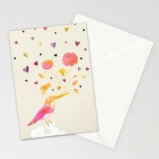 Flowers for you Stationery Cards