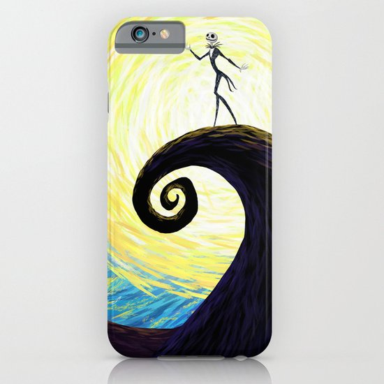 Starry Nightmare iPhone & iPod Case
