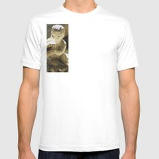 See You Later Alligator Mens Fitted Tee SMALL White