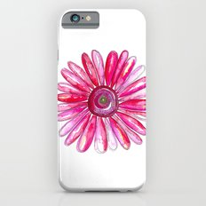 Pink Gerber Daisy Slim Case iPhone 6s