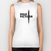 Pulp Fiction  Biker Tank