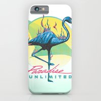 iPhone & iPod Case featuring Paradise Unlimited by Dega Studios