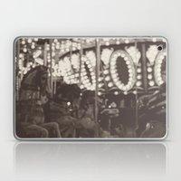 Fuzzy Carousel - B&W Laptop & iPad Skin
