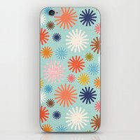 Flashbulbs iPhone & iPod Skin