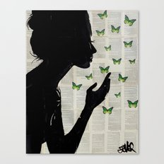 SIMPLICITY (Green) Canvas Print