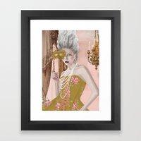 La question c'est voulez-vous Framed Art Print