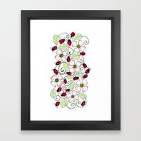 Don't Bug Me Framed Art Print