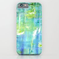 iPhone & iPod Case featuring Greens and Blues by Honorata Atelier